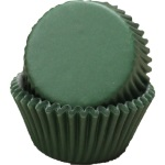 Standard Baking Cups - Solid - Dark Green THUMBNAIL