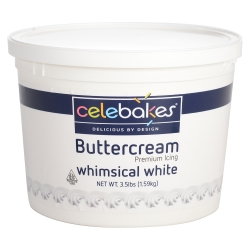 Celebakes Buttercream Icing - White LARGE