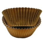 Mini Baking Cups - Foil - Copper