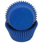 Mini Baking Cups - Solid - Blue