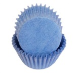 Mini Baking Cups - Solid - Light Blue