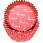 Standard Baking Cups - Candy Cane