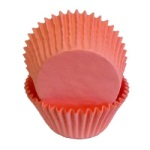 Standard Baking Cups - Solid - Light Pink THUMBNAIL