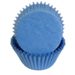 Standard Baking Cups - Solid - Light Blue THUMBNAIL