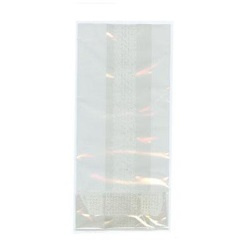 "Clear Bags - 3"" x 5 1/2"" Flat LARGE"