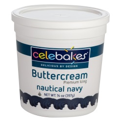 Buttercream Icing - Nautical Navy LARGE