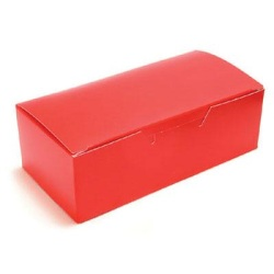 Red Candy Box - 1/2 lb. LARGE
