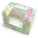 Easter Print Egg Box w/Window - 2 lb.