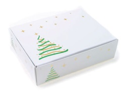 Christmas Tree Candy Box - 1/4 lb.