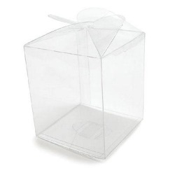 Clear Apple Box LARGE