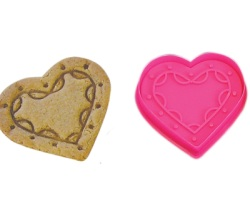 Heart Cookie & Pastry Stamper