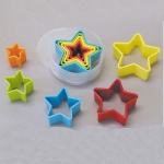 Plastic Cutter Set - Star