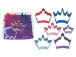 Crown Color Cookie Cutter Set