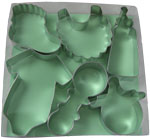 Baby Cookie Cutter Set - 6 Pc.