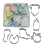 Baby Cookie Cutter Set - 6 Pc. THUMBNAIL