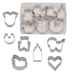 Baby Mini Cookie Cutter Set - 7 Piece LARGE
