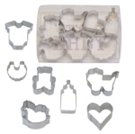 Baby Mini Cookie Cutter Set - 7 Piece THUMBNAIL