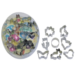 Easter Mini Cookie Cutter Set LARGE