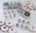 Linzer Cutter Set - Christmas