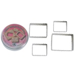 Fluted Rectangle Cutter Set - 4 pc THUMBNAIL