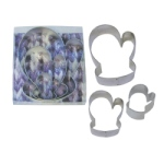 Mitten 3 Pc. Cookie Cutter Set