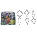 Ornament Cookie Cutter Set - 6 Piece