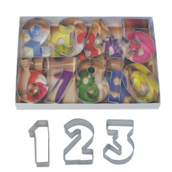 Number Cutter Set LARGE