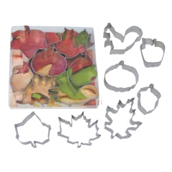 Leaves & Acorns Cookie Cutter Set LARGE