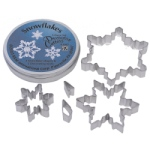 Snowflake Cookie Cutter Set - 5 pc.