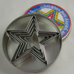Star Cookie Cutter Set - 5 Pc.