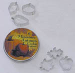 Mini Autumn Cookie Cutter Set