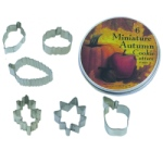 Mini Autumn Cookie Cutter Set THUMBNAIL