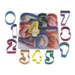 Number 9 Pc. Color Set