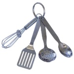 Mini Kitchen Tools Keychain THUMBNAIL