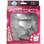 Unicorn Cake & Cookie Cutter Set - 5 Pc.