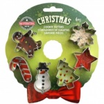 Christmas Cutter Set - Mini 6 piece THUMBNAIL