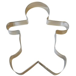 "Gingerbread Boy Cookie Cutter - 8"" LARGE"