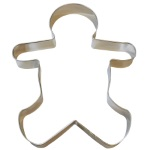 "Gingerbread Boy Cookie Cutter - 8"" THUMBNAIL"