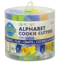 Alphabet Cutter Set - Mini LARGE