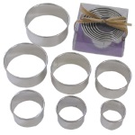 Round Cookie Cutter Set - 7 Piece