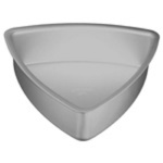 "Convex Triangle/Candy Corn Cake Pan - 10"" THUMBNAIL"