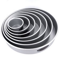 "Fat Daddio's Round Professional Pan - 8"" x 2"" LARGE"
