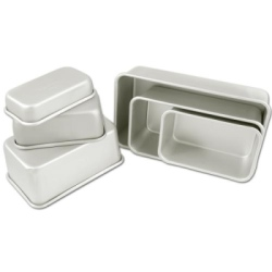 "Fat Daddio's Professional Bread Pan - 6 3/8"" x 3 3/4"" LARGE"