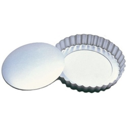 "Fat Daddio's Fluted Tart Pan - 11"" LARGE"