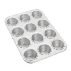 Fat Daddio's Standard Muffin Pan - 12 Ct. LARGE