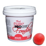 Fat Daddios Fondant - 8 oz. - Red