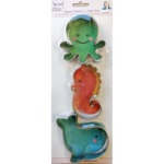 Sea Critters Cookie Cutter Set THUMBNAIL