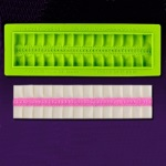 Marvelous Molds - Pretty in Pleats Cake Border Mold
