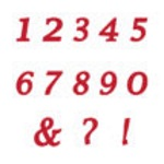 Marvelous Molds Flexabet - Calligraphy Numbers THUMBNAIL
