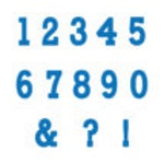 Marvelous Molds Flexabet - Typewriter Numbers THUMBNAIL